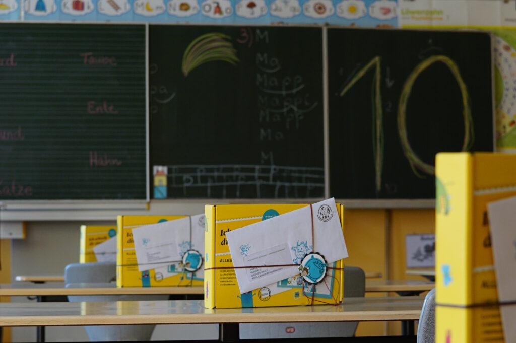 Förderverein Grundschule Knüllwald-Rengshausen e. V., Buchgeschenk Klasse 1, 2020
